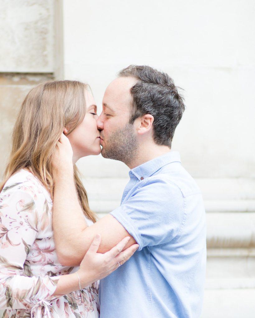Anne & Stephen's Romantic London Pre Wedding Shoot