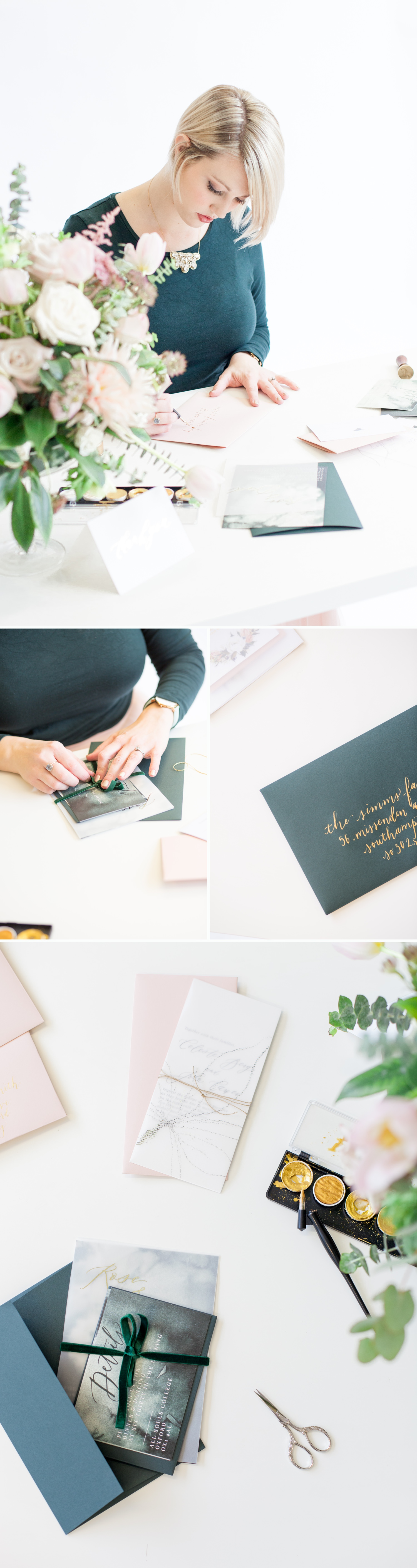 Personal Branding, a calligrapher at work