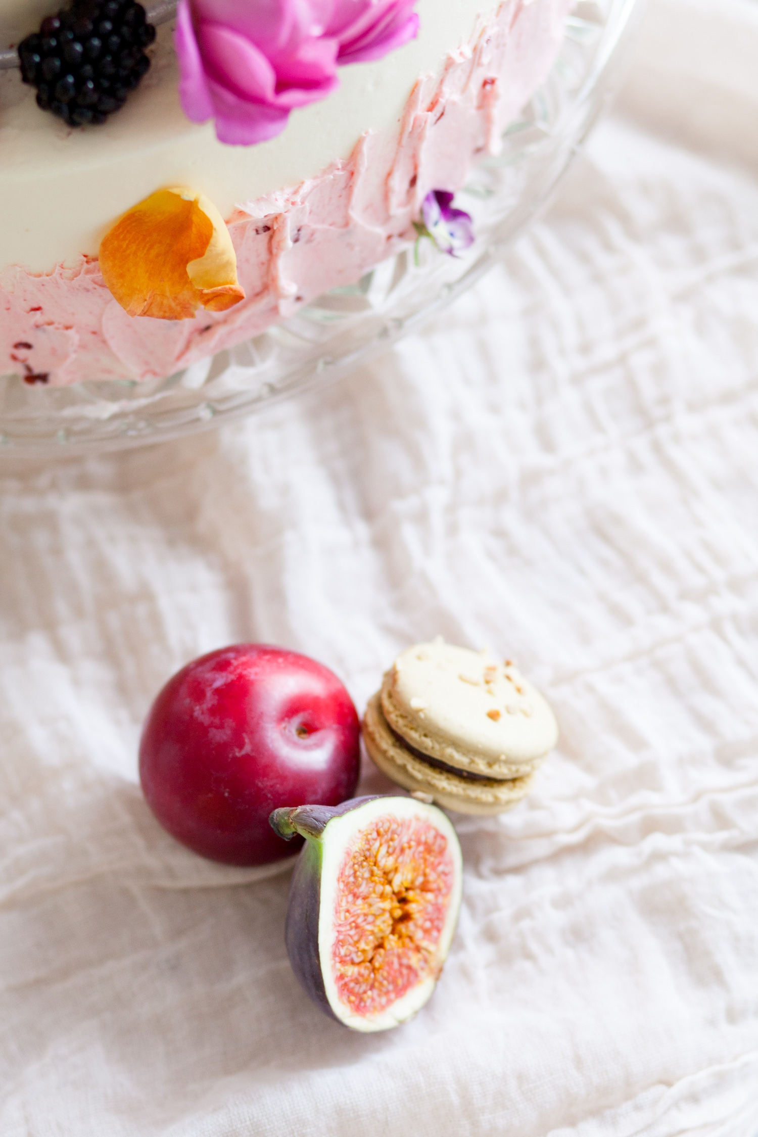 Personal branding shoot for Milk Street Kitchen - figs and plums