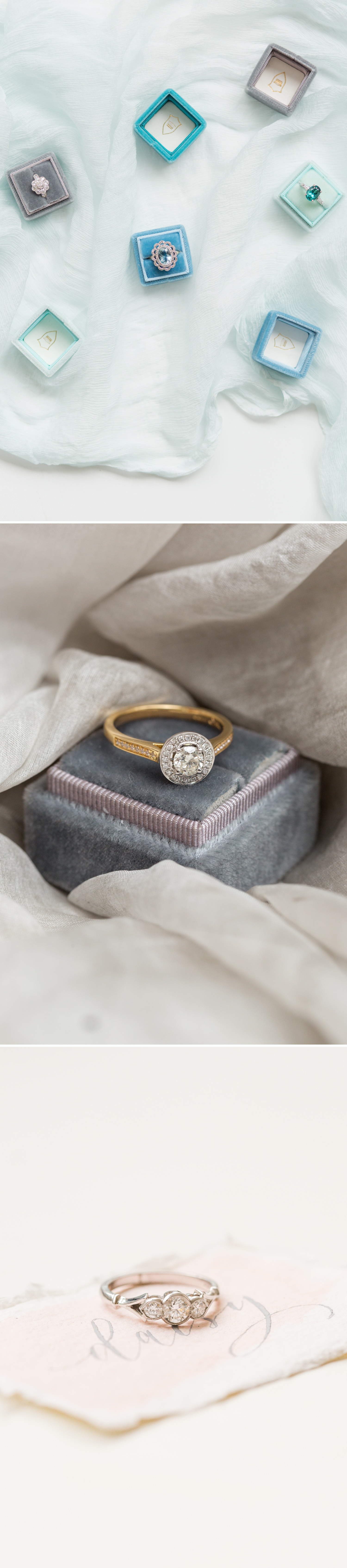 timeless engagement rings, diamond and sapphire antique rings