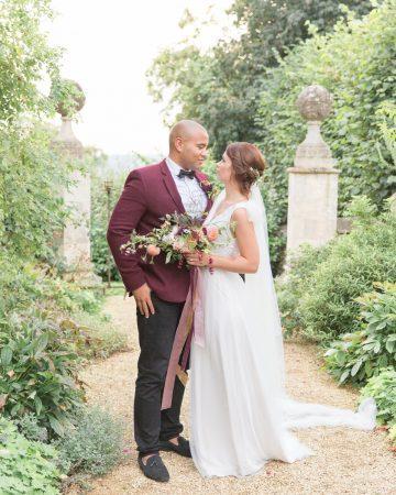 romantic wedding photography- a fine art wedding at Valentina's Orangery