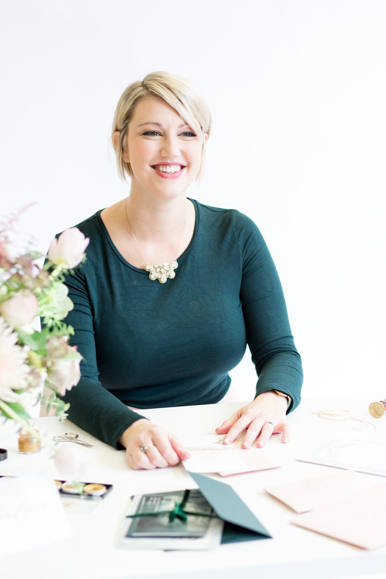 Personal Branding photoshoot. creative at her desk