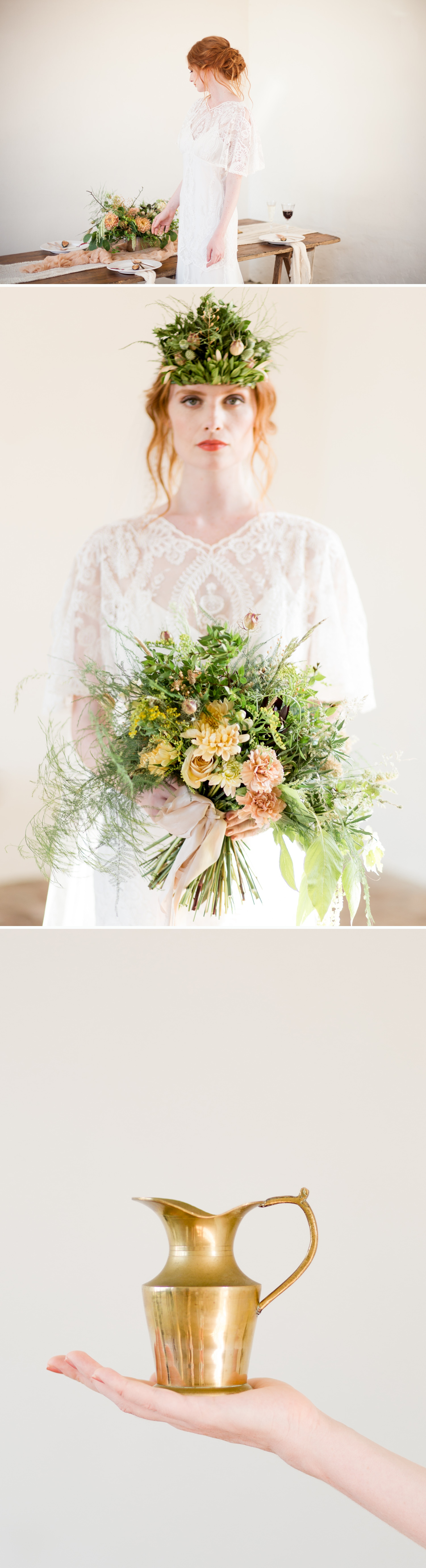 West Sussex Wedding Photographer - wedding styling inspired by Titania, Queen of the Fairies