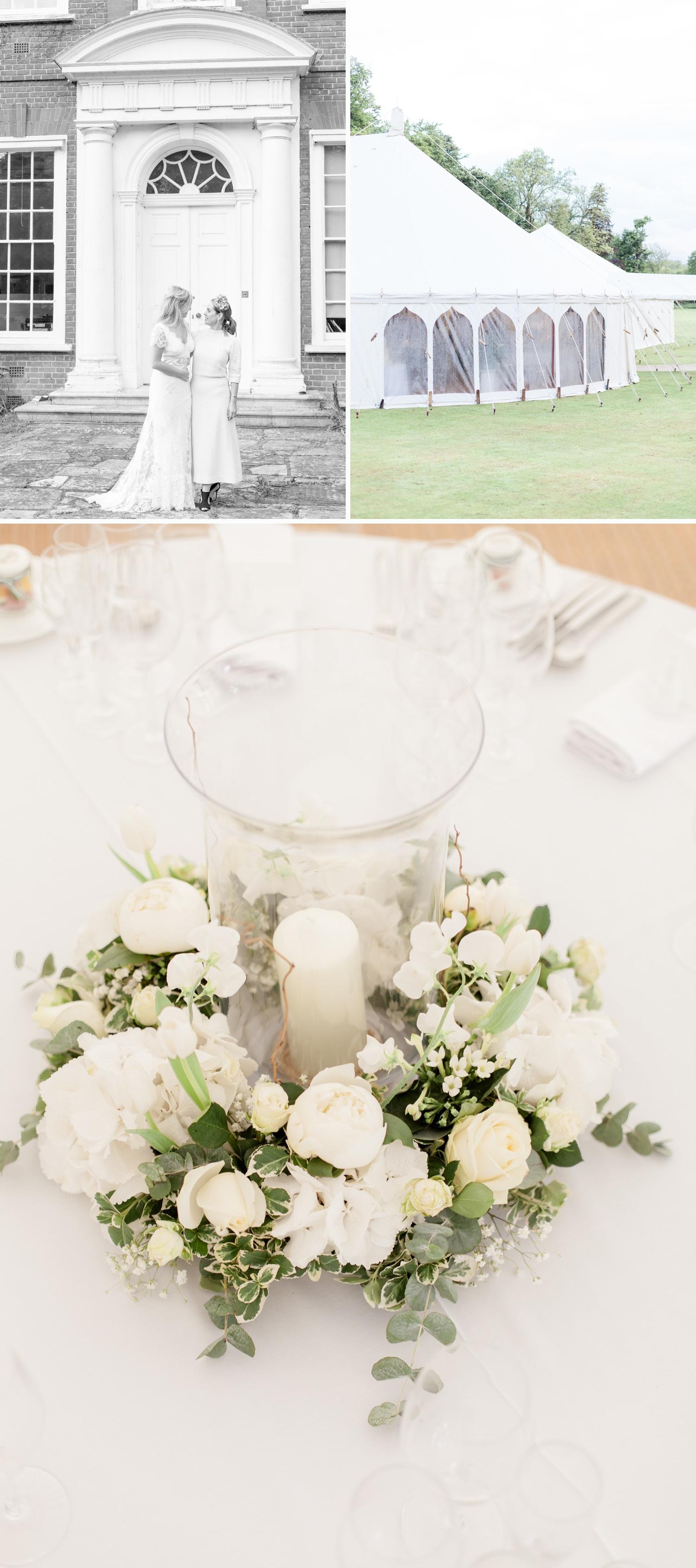 Emily & Jonathan's Cambridgeshire wedding - a marquee wedding