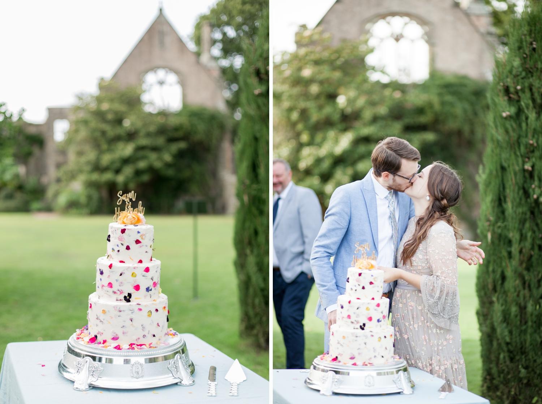 An English Garden Wedding in an Italian Loggia, Hannah & Sam at Nymans National Trust