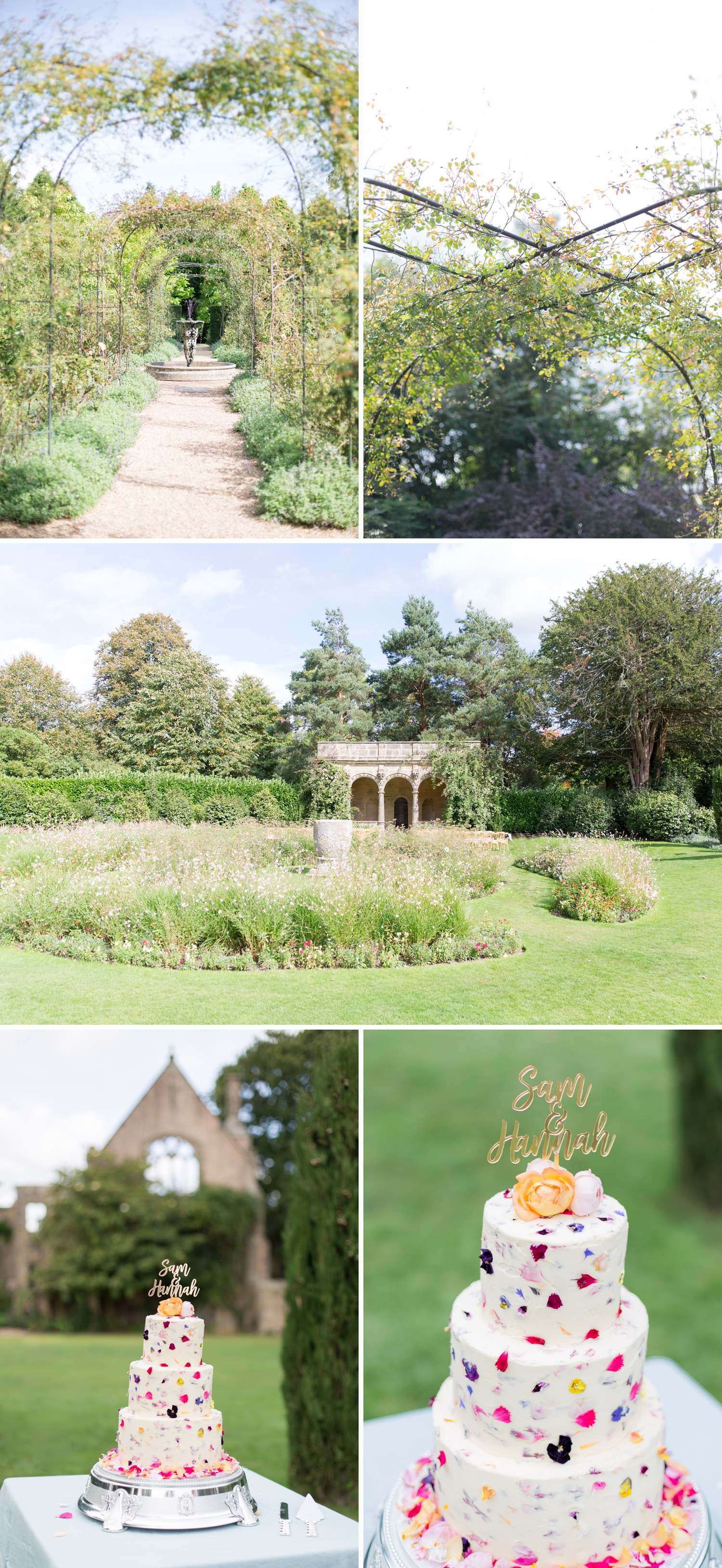 An English Garden Wedding in an Italian Loggia, Hannah & Sam at Nymans National Trust