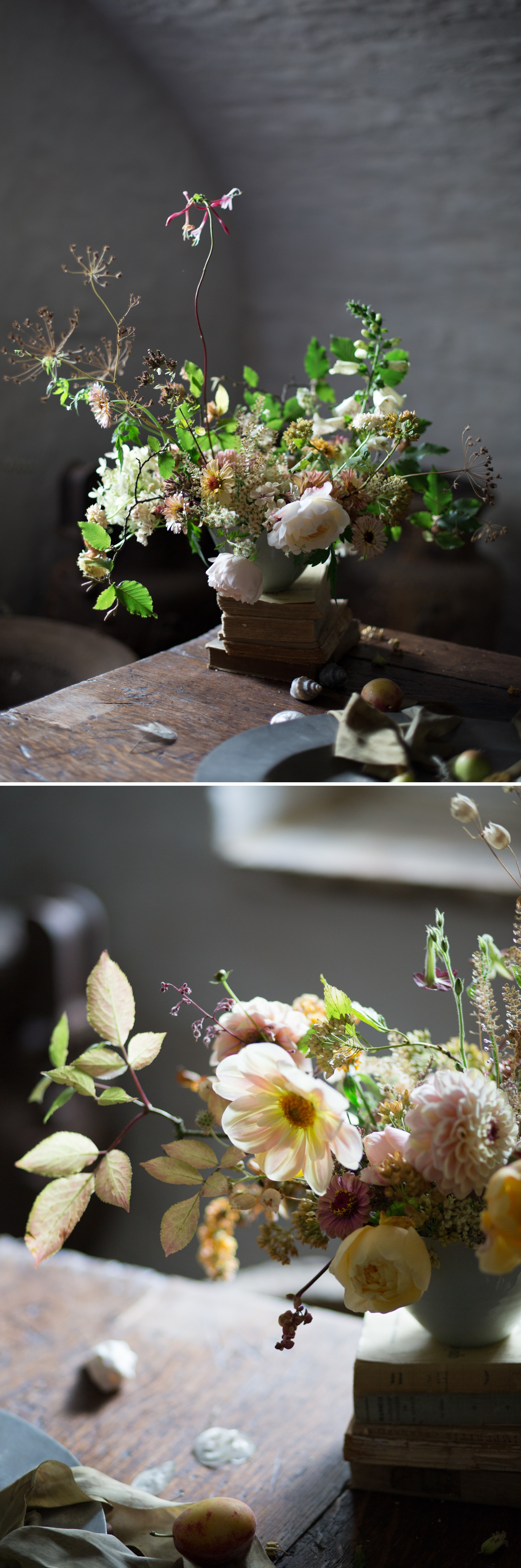 Wild and Romantic Wedding Flowers, by Moss and Stone Floral Design and Wild Bunch Flower